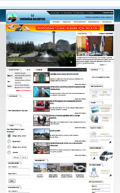php admin panelli belediye scripti