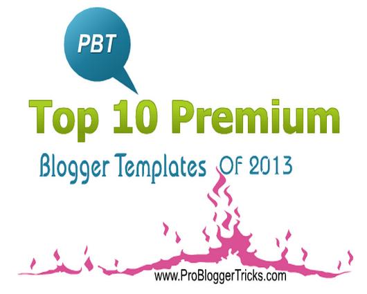 Free premium blogger templates