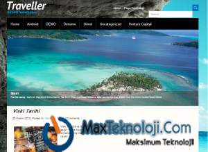 MaxTeknoloji.Com - WordPress Tatil Sitesi Teması - Teknoloji - WordPress Temaları - Program İndir - Script İndir