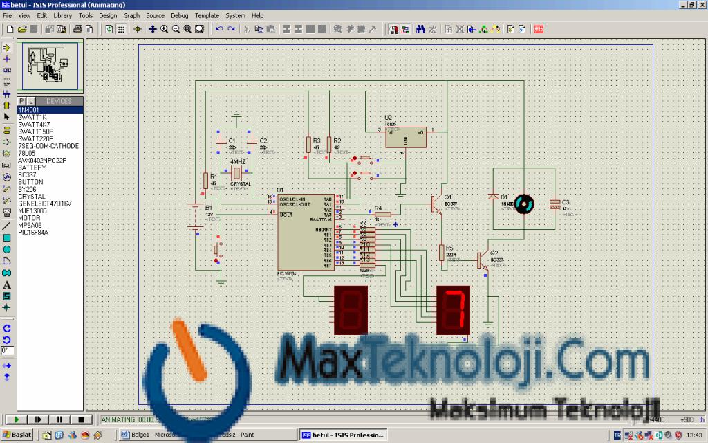 Proteus 7.9 Full İndir - Elektronik Devre Şeması Hazırlayıcı 1