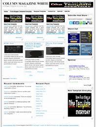 WhiteMagz blogger temaları