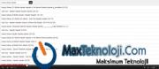 Www.MaxTeknoloji.Com - Mp3 Scripti - Mp3 Dinletme Scripti - Script - Script Arşivi - ücretsiz script