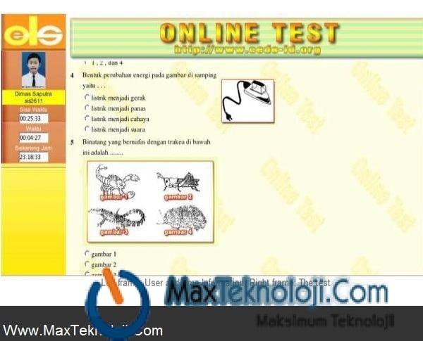 Www.MaxTeknoloji.Com - Online Test Scripti-script