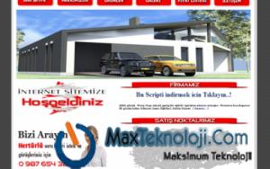 Www.MaxTeknoloji.Com - PHP Script - WordPress Tema - Kurumsal Firma Scripti