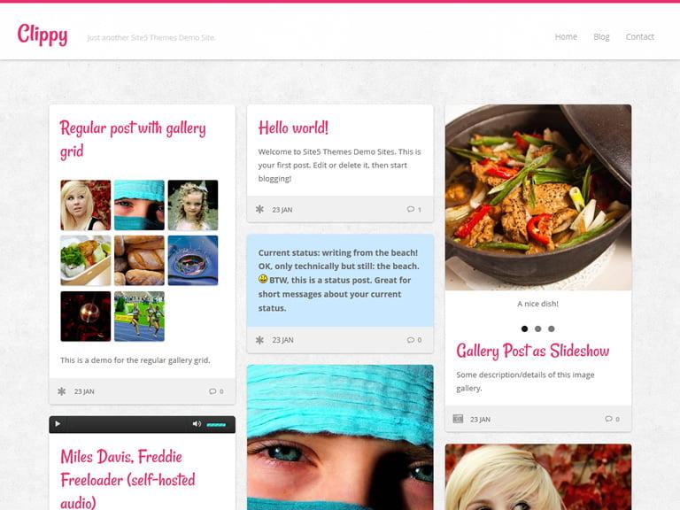 Ücretsiz WordPress Clippy Teması