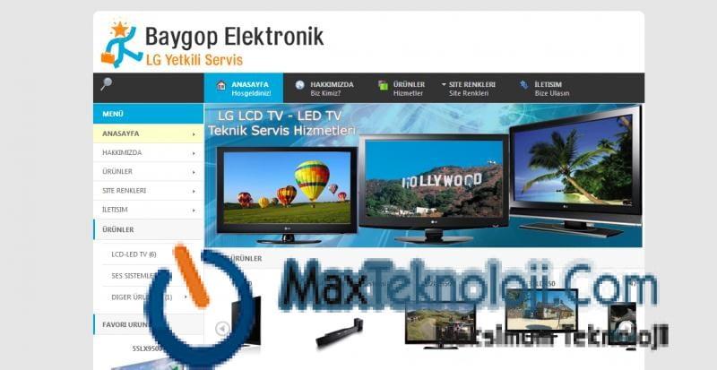 elektronik ürün tanıtım