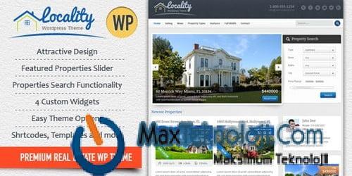 Bedava Wordpress Emlak Teması, Wordpress Emlak Teması, Wordpress Emlak Teması indir