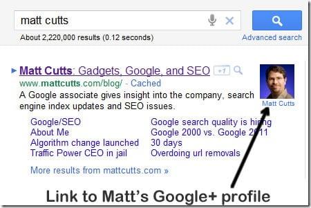 Google Aramalarda Profil Resmi Ekleme
