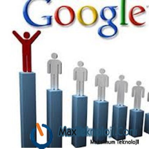 google da sıra yükselme