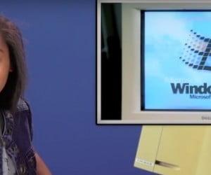 Windows 95'i İlk Kez Gören Gençler
